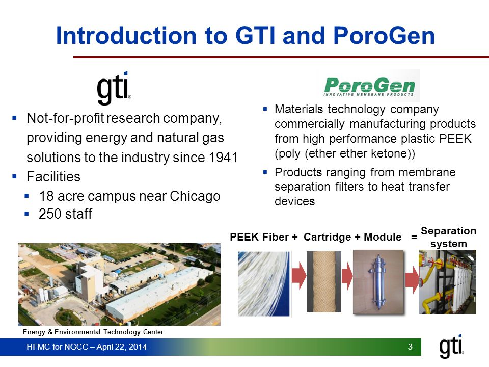 Introduction to GTI and PoroGen