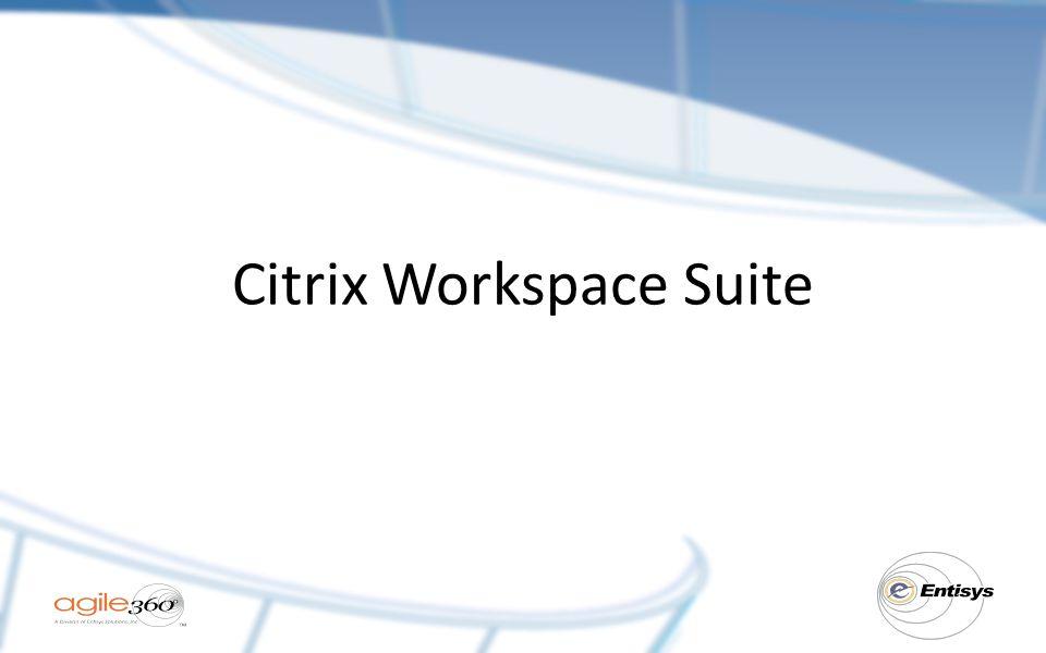 Citrix Workspace Suite