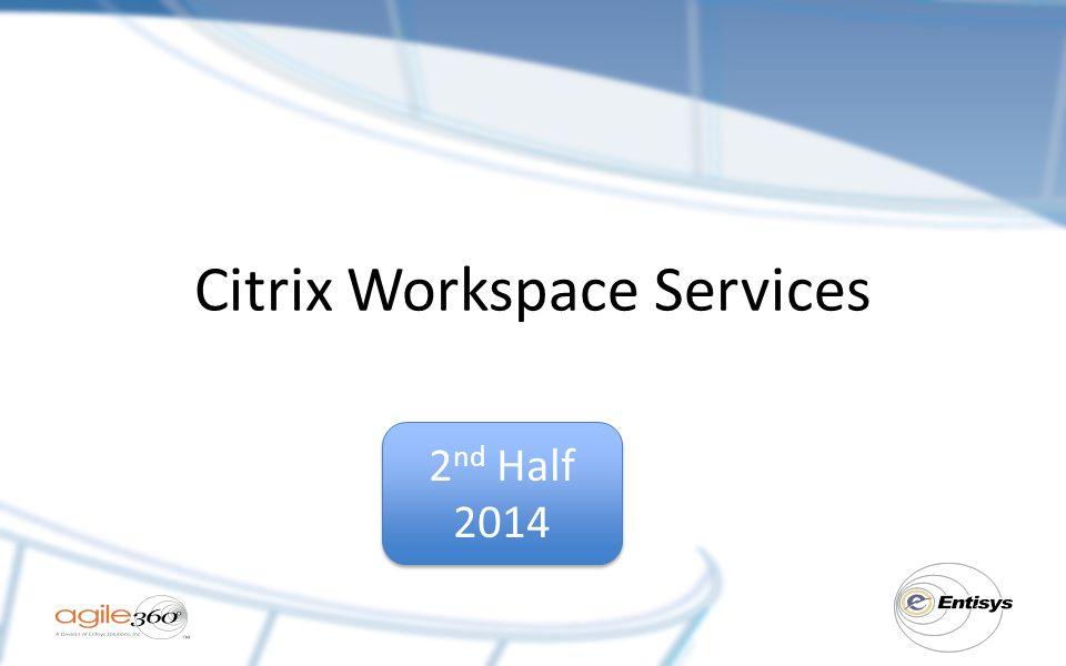 Citrix Workspace Services
