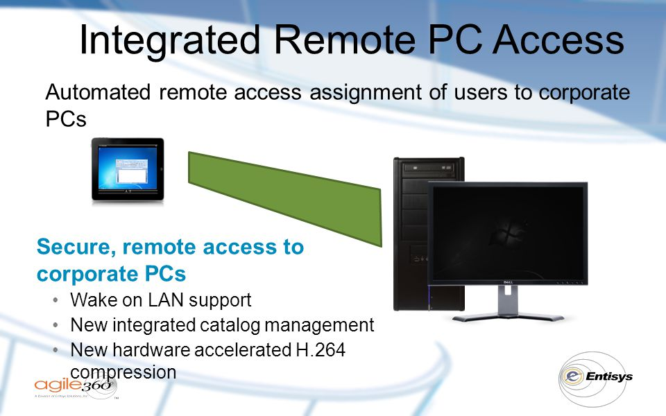 Integrated Remote PC Access