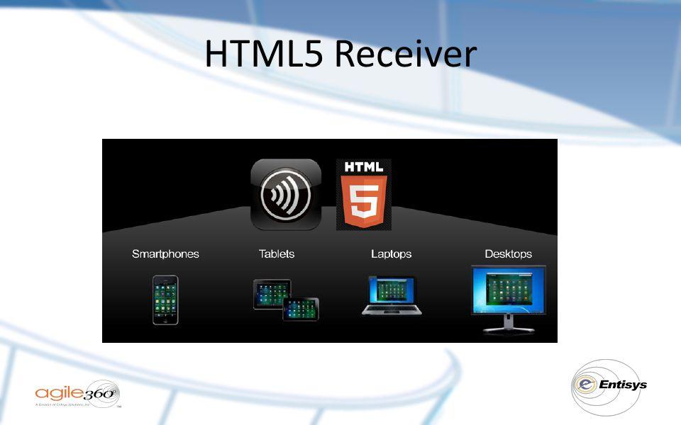HTML5 Receiver