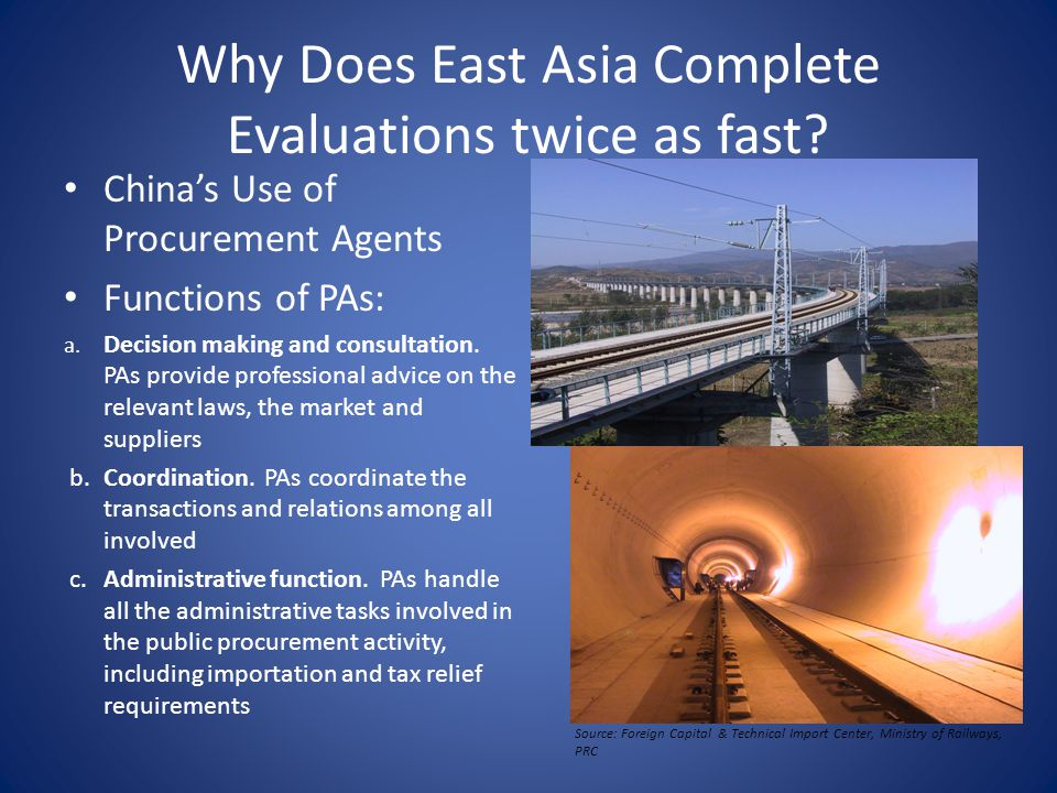Why Does East Asia Complete Evaluations twice as fast
