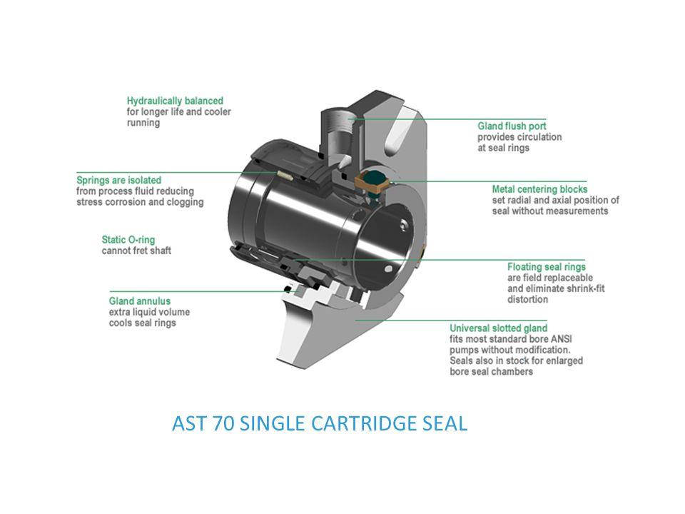 AST 70 SINGLE CARTRIDGE SEAL