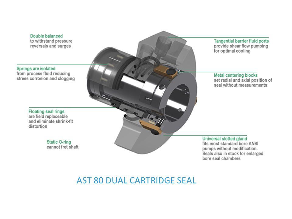 AST 80 DUAL CARTRIDGE SEAL