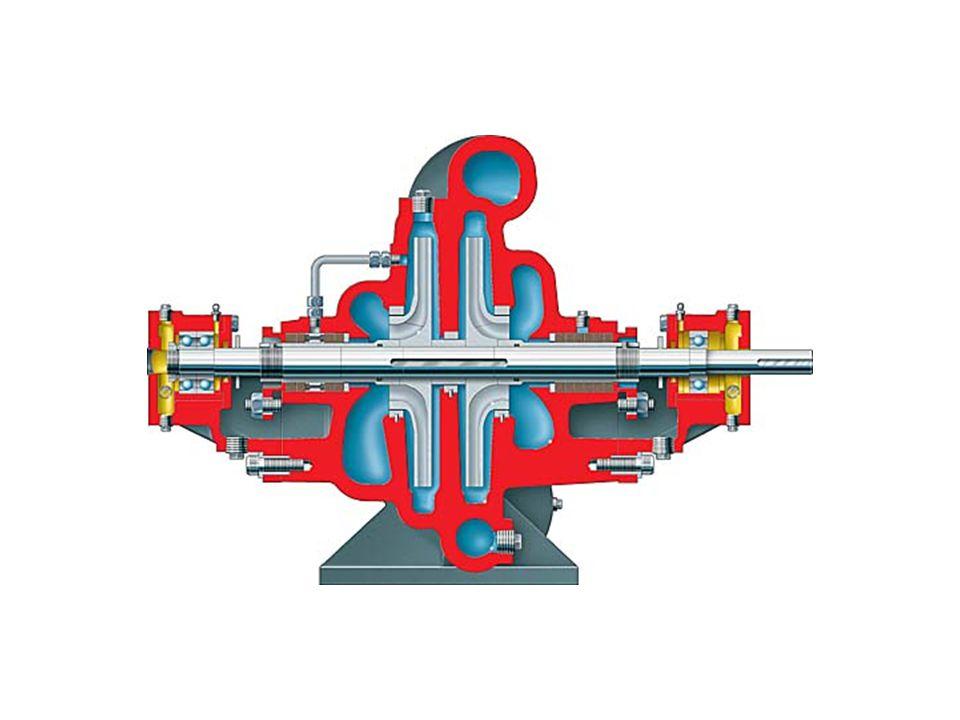 Two-stage split case horizontal pump (Flowserve LLR)