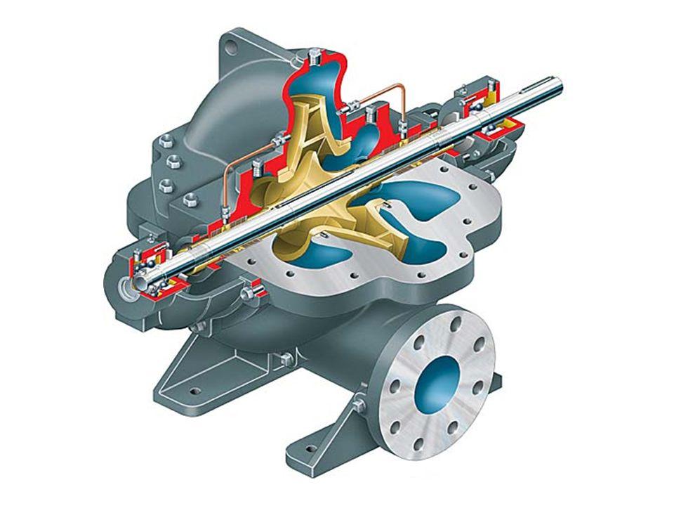 Single-stage double-suction split case pump (Flowserve LR)