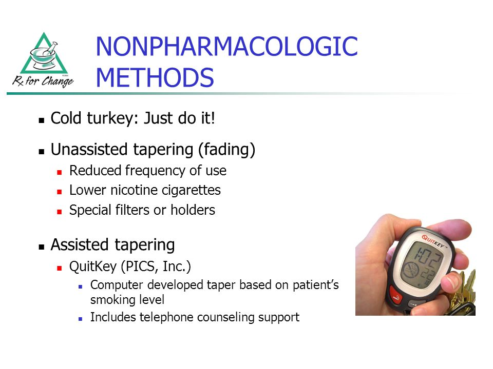 NONPHARMACOLOGIC METHODS
