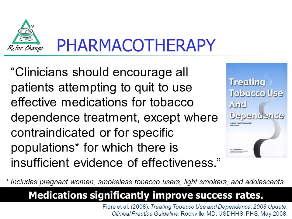Medications significantly improve success rates.