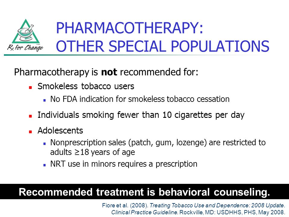 PHARMACOTHERAPY: OTHER SPECIAL POPULATIONS