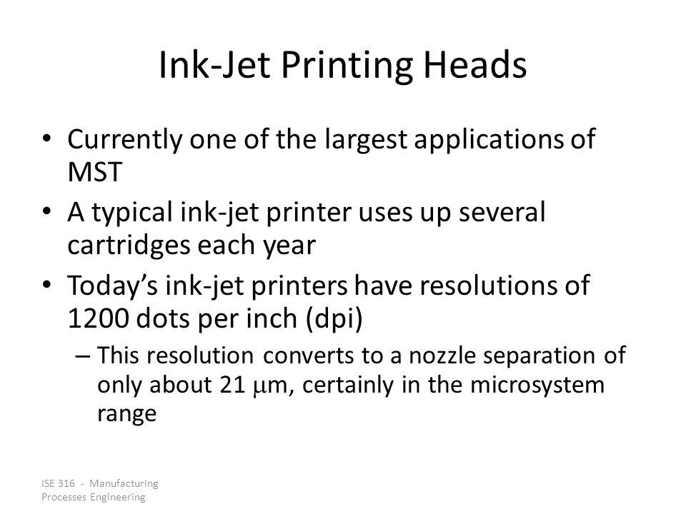Ink-Jet Printing Heads