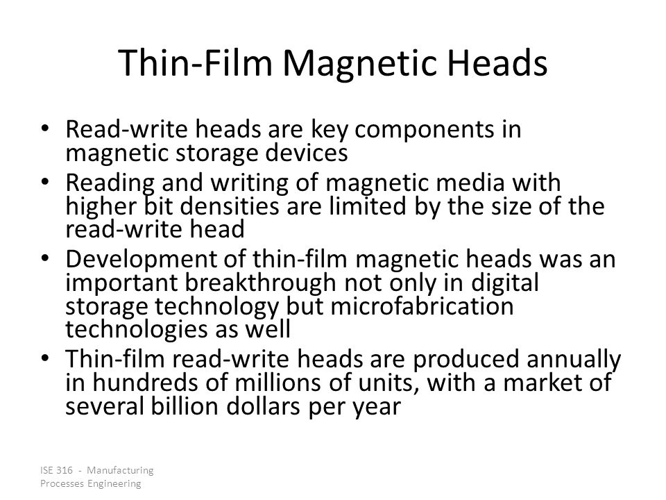 Thin-Film Magnetic Heads