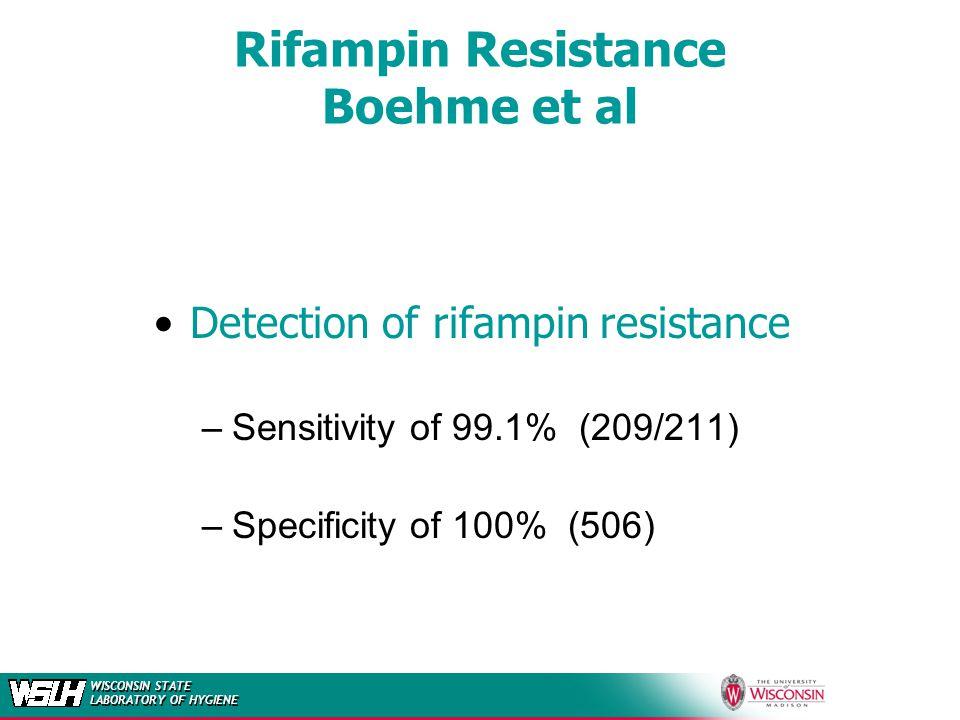 Rifampin Resistance Boehme et al