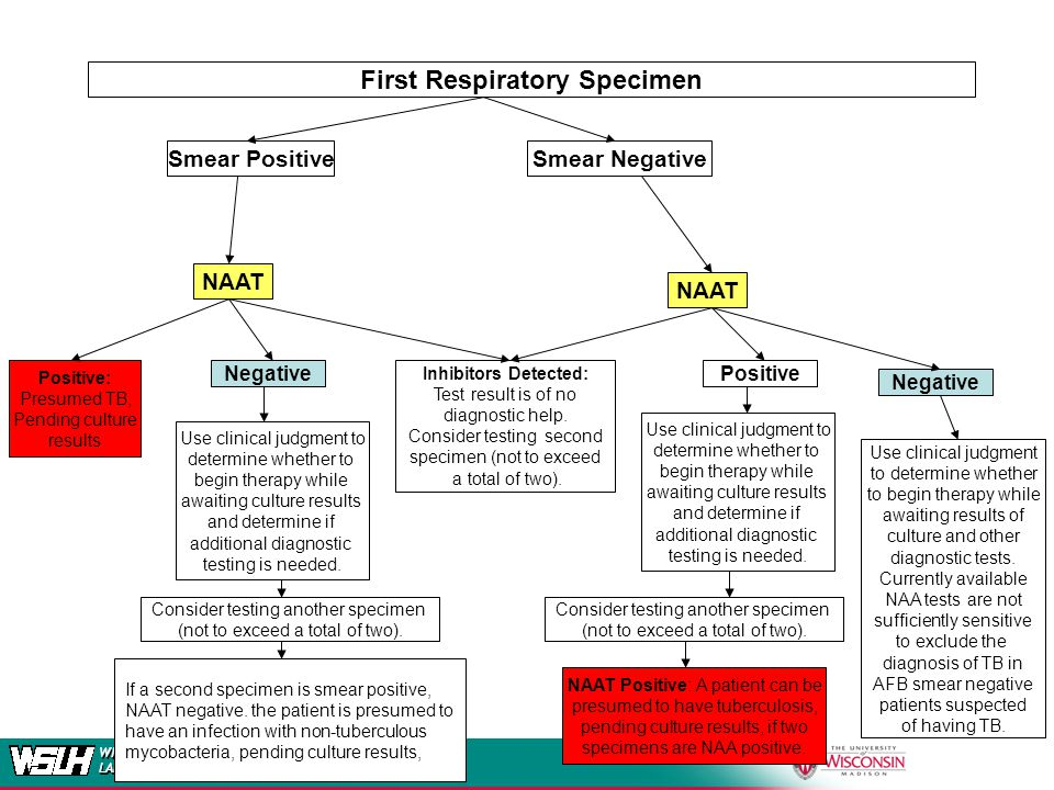First Respiratory Specimen