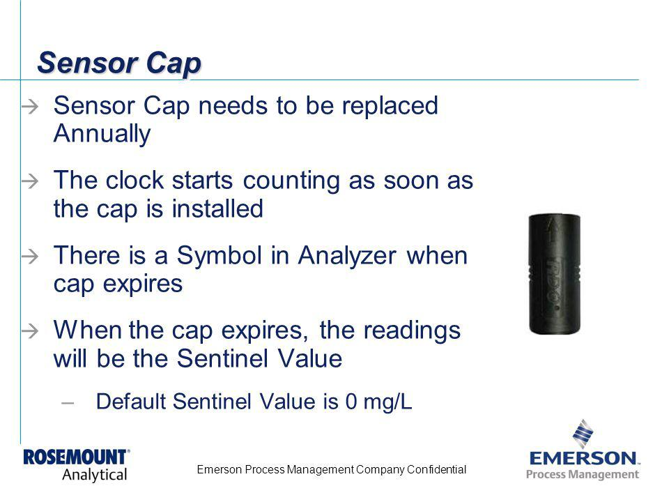 Sensor Cap Sensor Cap needs to be replaced Annually