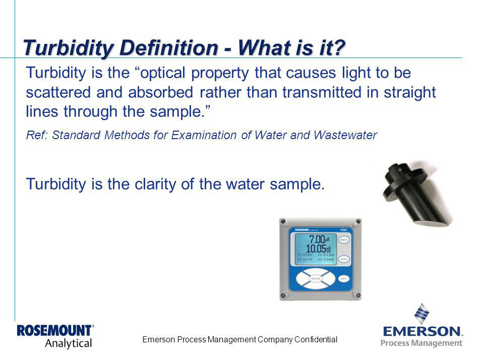 Turbidity Definition - What is it