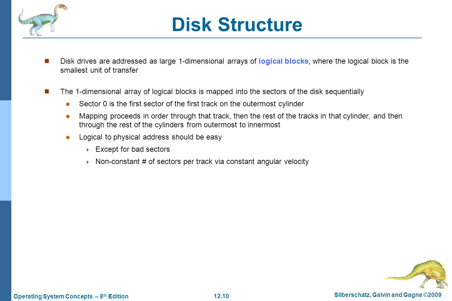Chapter 12: Mass-Storage Systems - ppt download