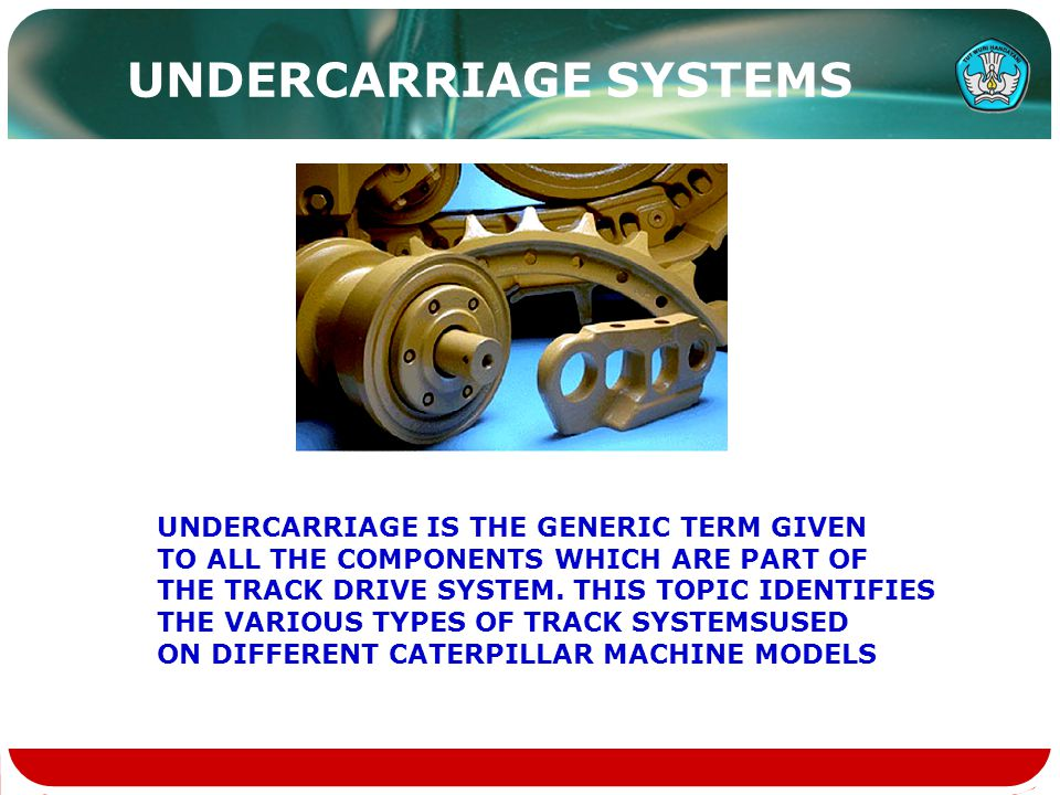 UNDERCARRIAGE SYSTEMS