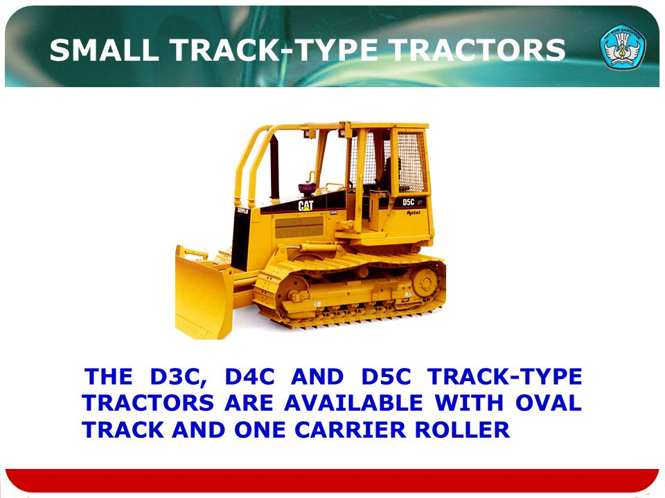 SMALL TRACK-TYPE TRACTORS