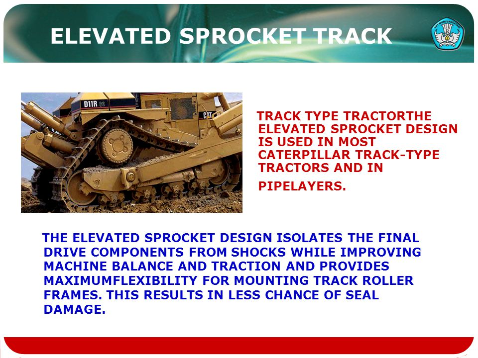 ELEVATED SPROCKET TRACK