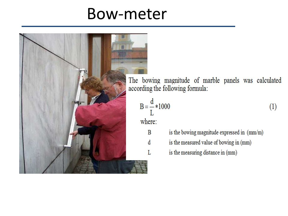 Bow-meter