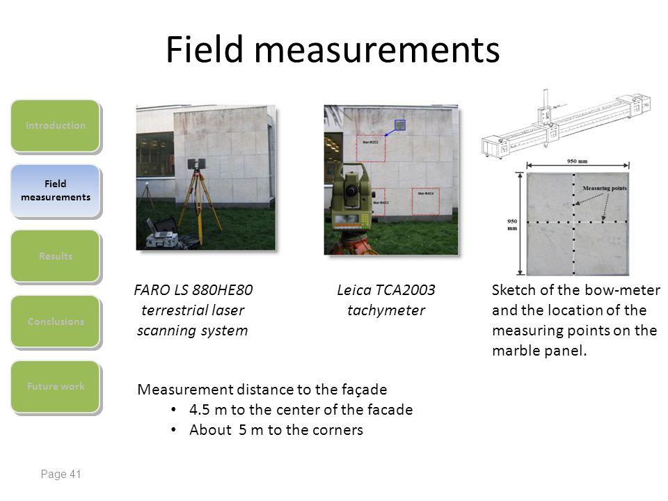 FARO LS 880HE80 terrestrial laser scanning system