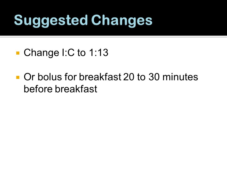 Suggested Changes Change I:C to 1:13