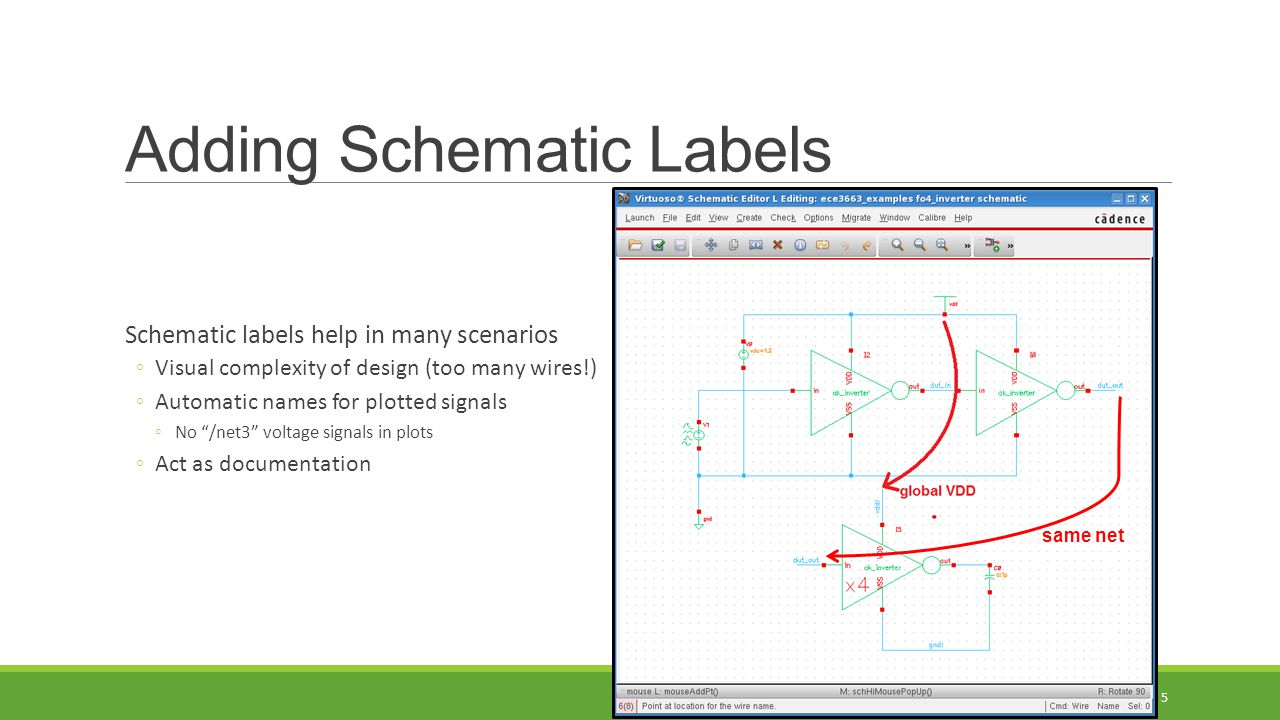 Adding Schematic Labels