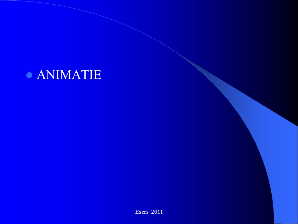 ANIMATIE Escrs 2011