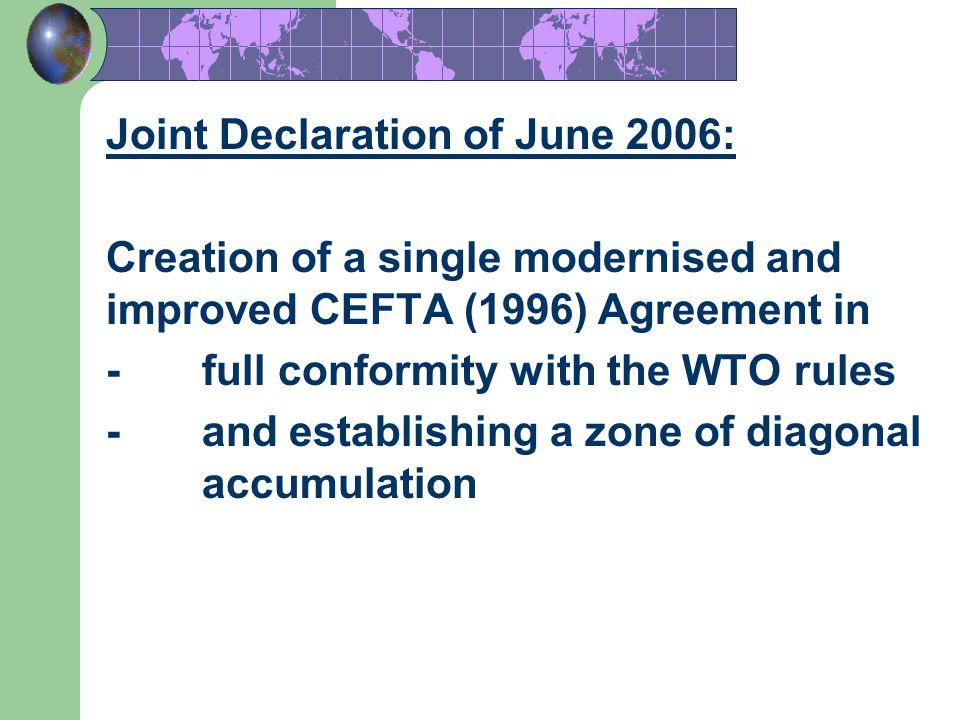 Joint Declaration of June 2006: