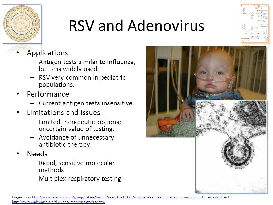 RSV and Adenovirus Applications Performance Limitations and Issues