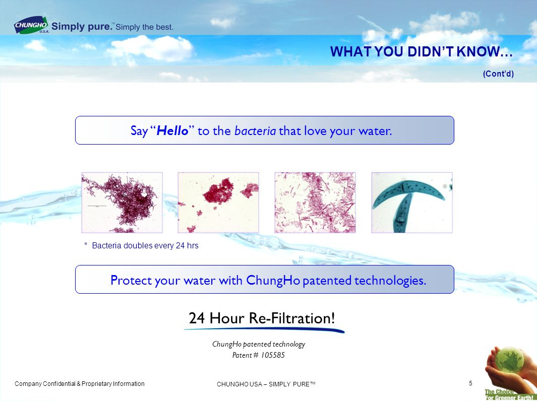 24 Hour Re-Filtration! WHAT YOU DIDN'T KNOW…