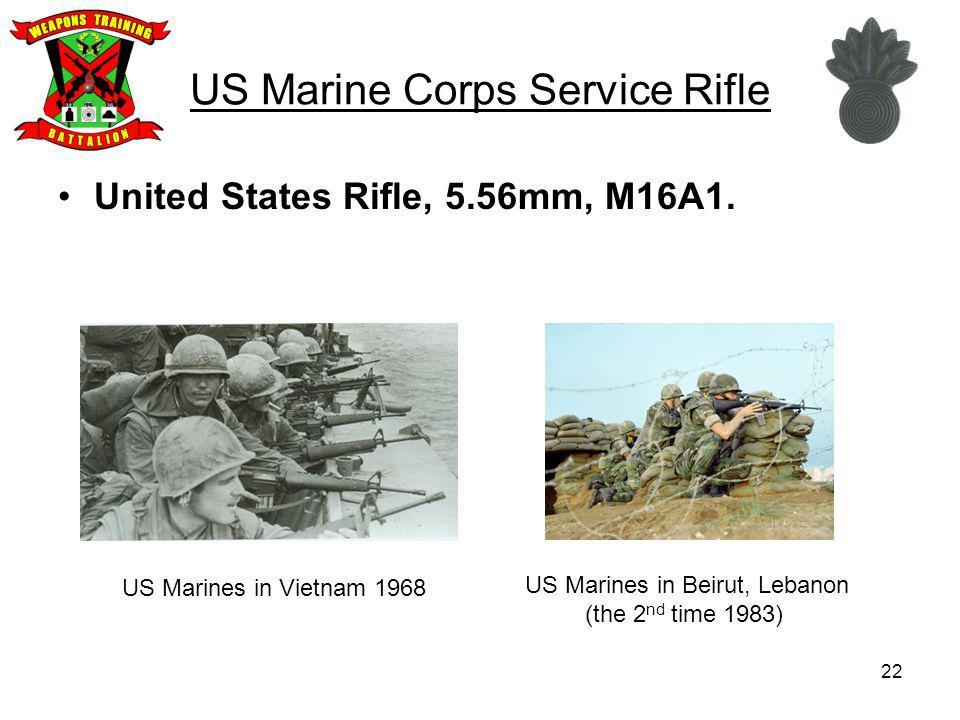 US Marine Corps Service Rifle