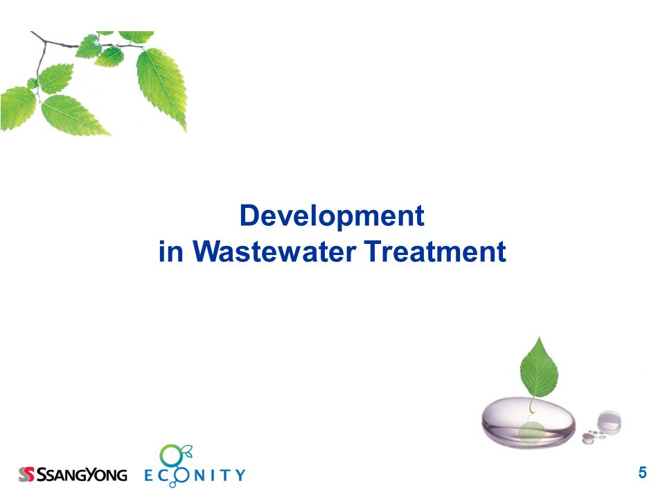 in Wastewater Treatment