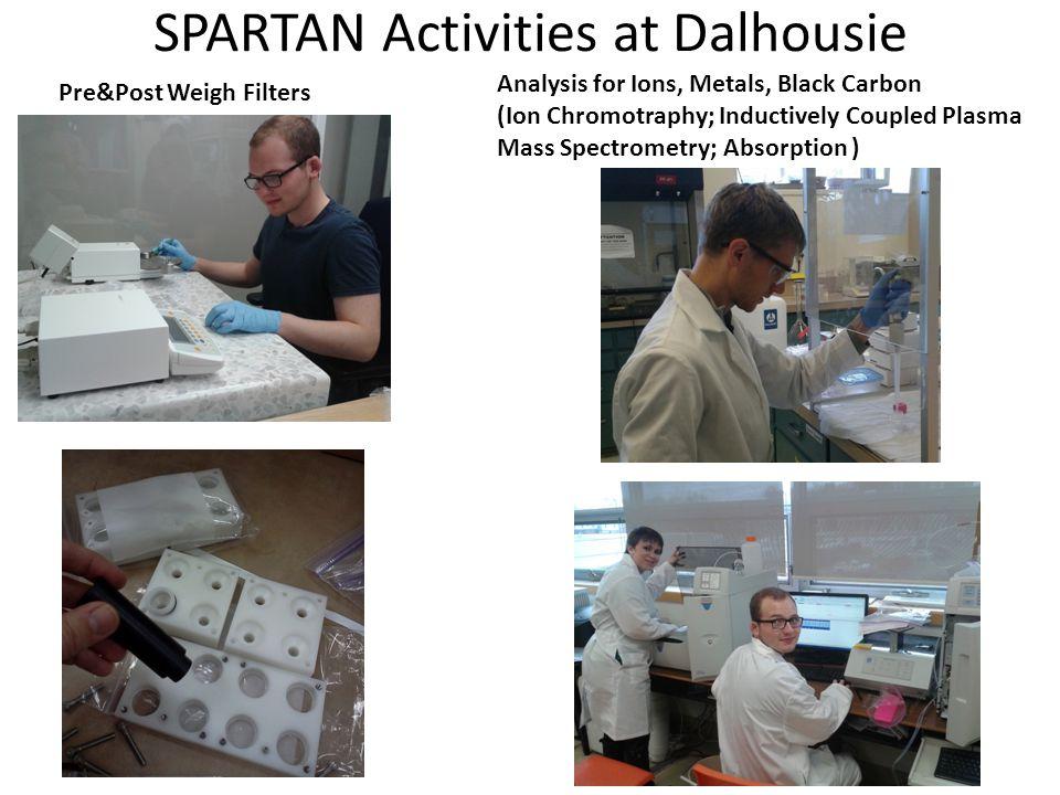 SPARTAN Activities at Dalhousie