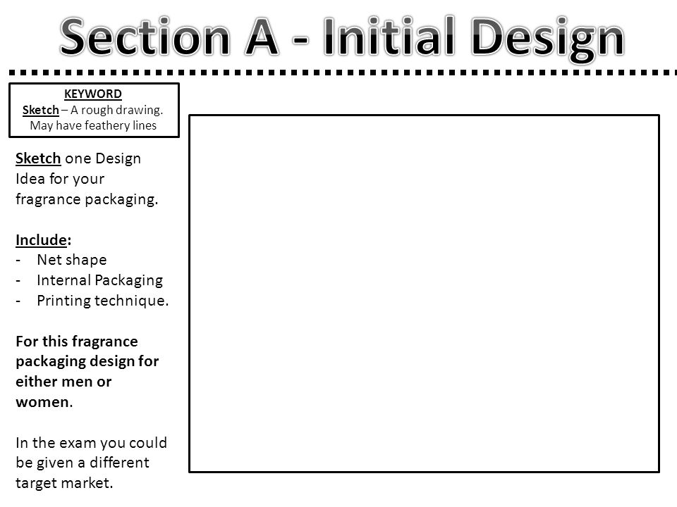 Section A - Initial Design