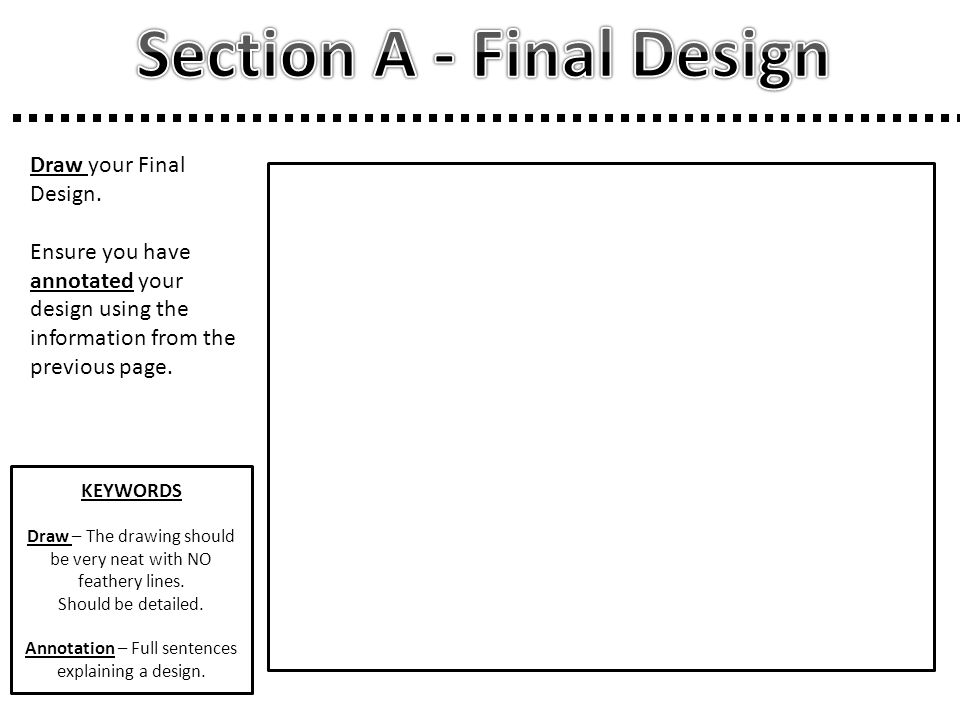 Section A - Final Design