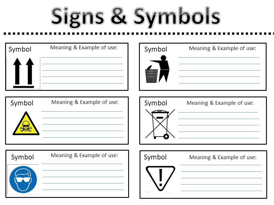 Signs & Symbols Symbol Symbol Symbol Symbol Symbol Symbol