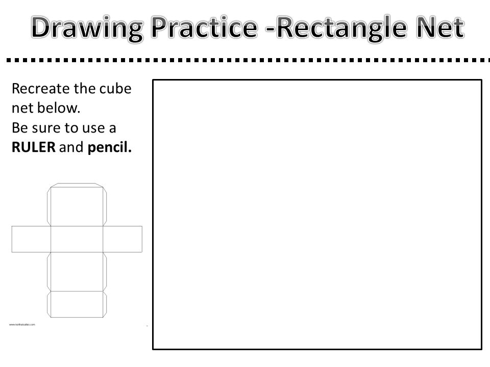 Drawing Practice -Rectangle Net