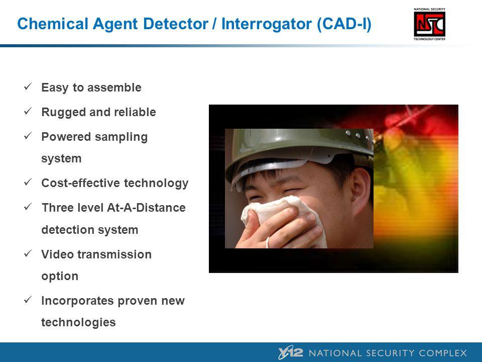 Chemical Agent Detector / Interrogator (CAD-I)