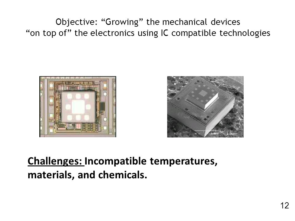 Challenges: Incompatible temperatures, materials, and chemicals.