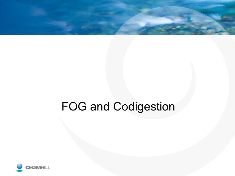 FOG and Codigestion