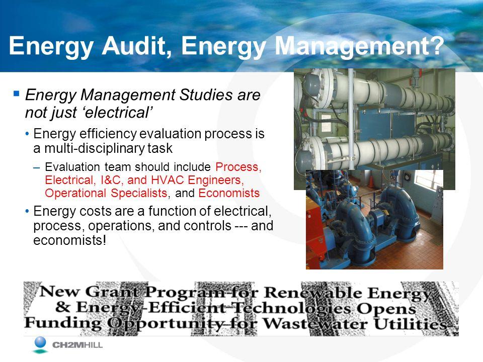 Energy Audit, Energy Management