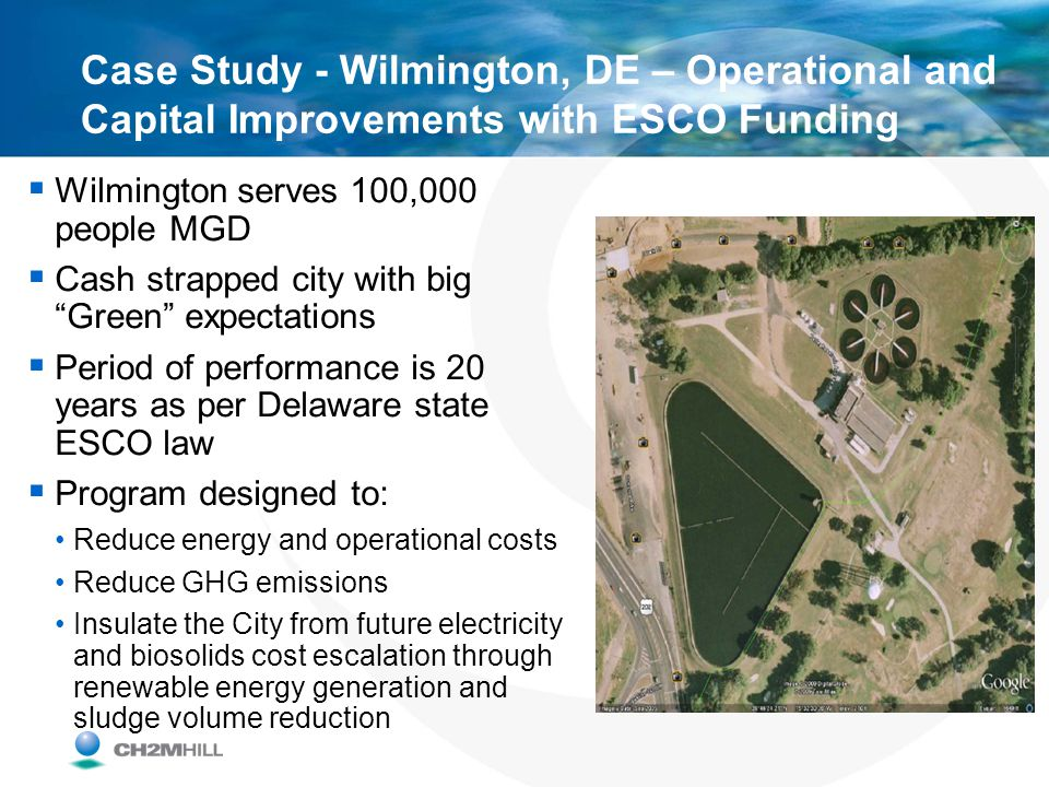 Case Study - Wilmington, DE – Operational and Capital Improvements with ESCO Funding