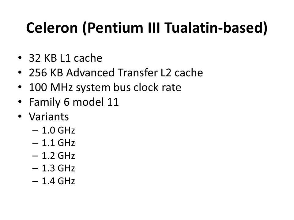 Celeron (Pentium III Tualatin-based)