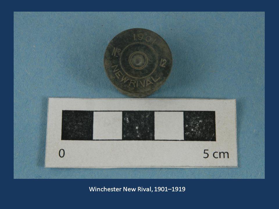 Winchester New Rival, 1901–1919 Winchester New Rival, 1901–1919