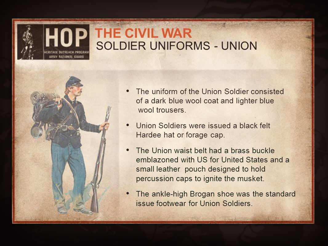 SOLDIER UNIFORMS - UNION