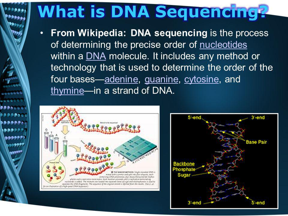 What is DNA Sequencing