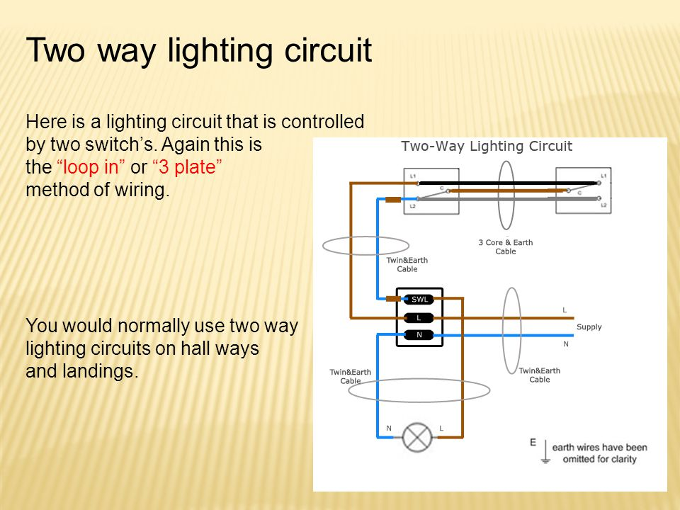 Two way lighting circuit