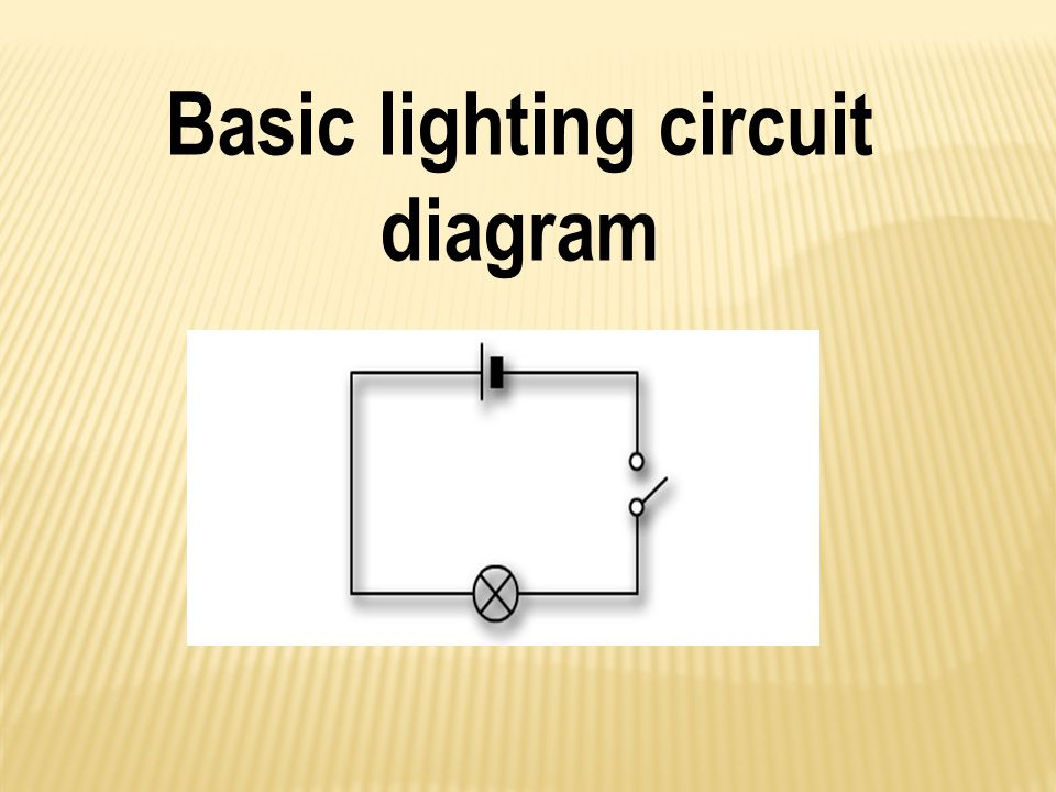 common circuit diagram light basic electrical circuitry & applications - ppt video ... circuit diagram electronic ballast tube light