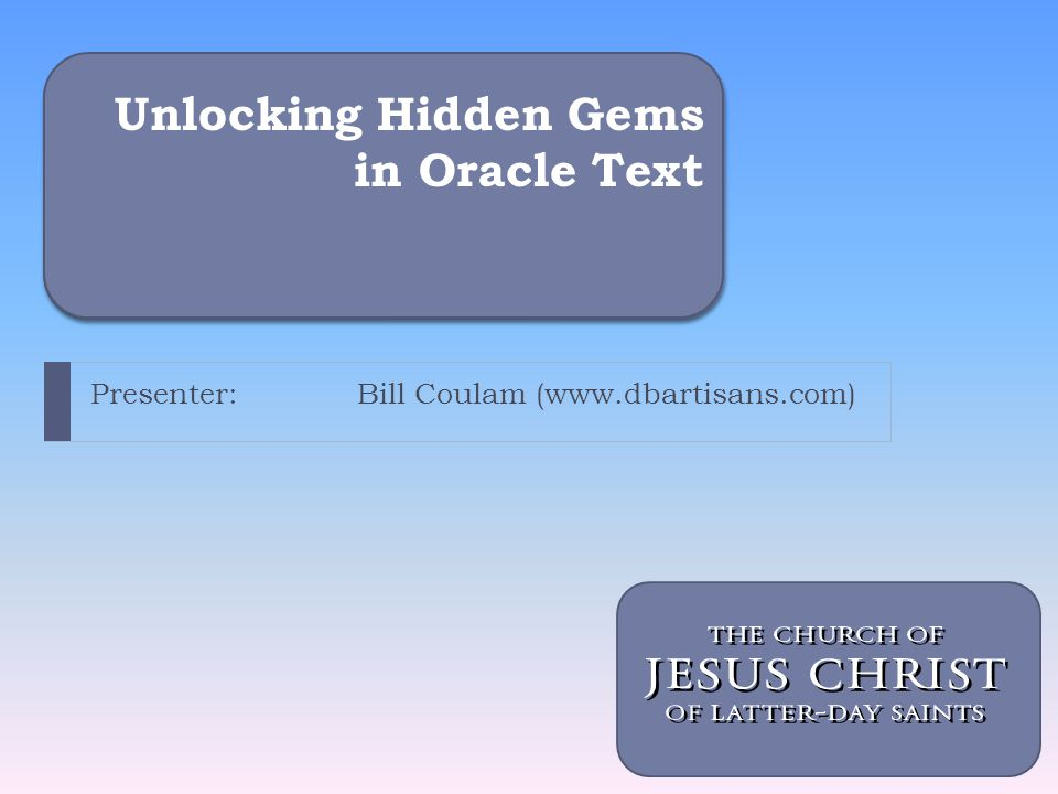 Unlocking Hidden Gems in Oracle Text